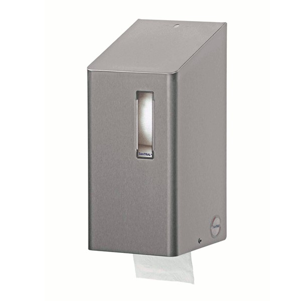 Santral Duo standaard toiletroldispenser